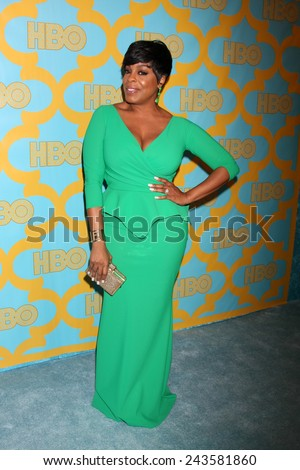 LOS ANGELES - JAN 11:  Niecy Nash at the HBO Post Golden Globe Party at a Circa 55, Beverly Hilton Hotel on January 11, 2015 in Beverly Hills, CA - stock photo