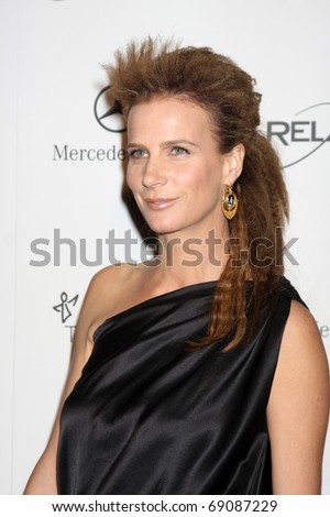LOS ANGELES - JAN 15:  Rachel Griffiths arrives at the Art Of Elysium 'Heaven' Gala 2011 at The California Science Center Exposition Park  on January 15, 2011 in Los Angeles, CA