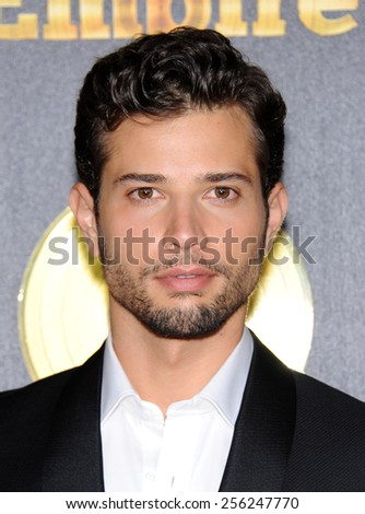 """LOS ANGELES - JAN 06:  Rafeal De La Fuente arrives to the """"Empire"""" Los Angeles Premiere  on January 6, 2015 in Hollywood, CA                 - stock photo"""