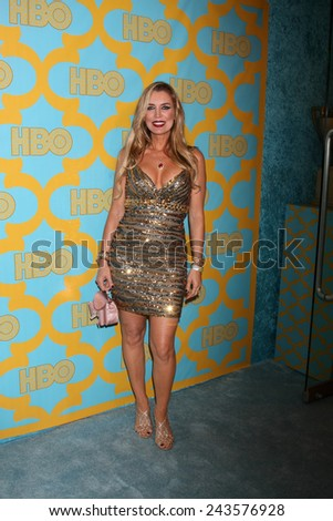 LOS ANGELES - JAN 11:  Sandra Vidal at the HBO Post Golden Globe Party at a Circa 55, Beverly Hilton Hotel on January 11, 2015 in Beverly Hills, CA - stock photo