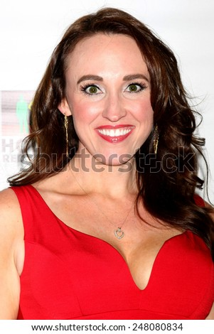 LOS ANGELES - JAN 17:  Sheri Fink at the Hollywood Red Carpet School at Secret Rose Theater on January 17, 2015 in Studio City, CA - stock photo