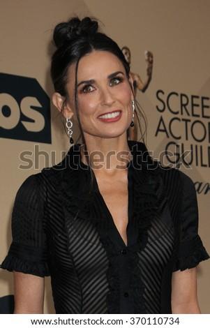LOS ANGELES - JAN 30:  Spotlight Cast at the SAG Awards at the Shrine Auditorium on January 30, 2016 in Los Angeles, CA - stock photo