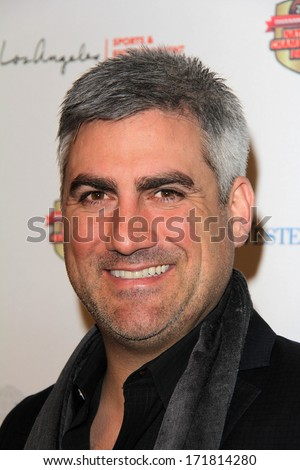 LOS ANGELES - JAN 5:  Taylor Hicks at the BCS National Championship Party at Pasadena Convention Center on January 5, 2014 in Pasadena, CA - stock photo