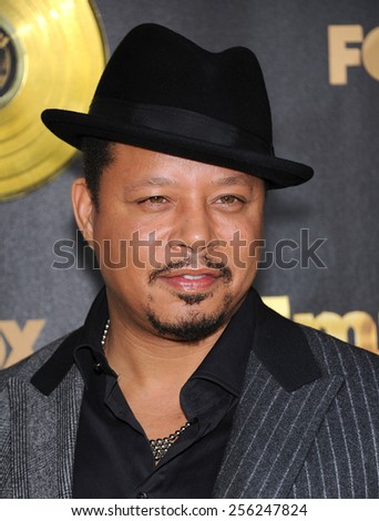 "LOS ANGELES - JAN 06:  Terrence Howard arrives to the ""Empire"" Los Angeles Premiere  on January 6, 2015 in Hollywood, CA                 - stock photo"