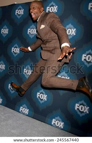 LOS ANGELES - JAN 17:  Terry Crews at the FOX TCA Winter 2015 at a The Langham Huntington Hotel on January 17, 2015 in Pasadena, CA - stock photo