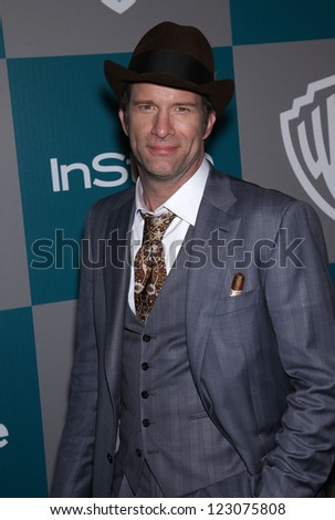 LOS ANGELES - JAN 15:  THOMAS JANE arriving to Golden Globes 2012 After Party: WB / In Style  on January 15, 2012 in Beverly Hills, CA