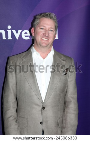 LOS ANGELES - JAN 15:  Tim Love at the NBCUniversal Cable TCA Winter 2015 at a The Langham Huntington Hotel on January 15, 2015 in Pasadena, CA - stock photo