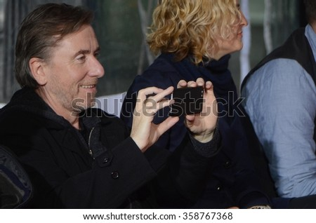 LOS ANGELES - JAN 5:  Tim Roth at the Quentin Tarantino Hand & Footprints Ceremony at the TCL Chinese Theater IMAX on January 5, 2016 in Los Angeles, CA - stock photo