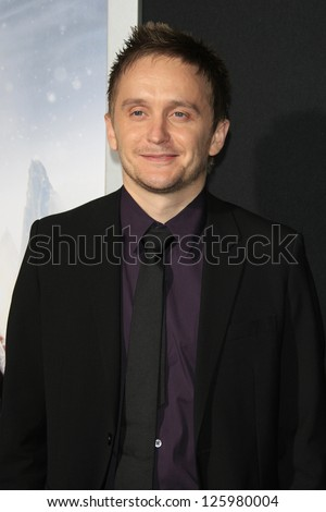 LOS ANGELES - JAN 24: Tommy Wirkola at the LA premiere of Paramount Pictures' 'Hansel And Gretel: Witch Hunters' at Grauman's Chinese Theater on January 24, 2013 in Los Angeles, California - stock photo