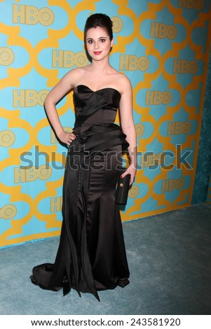 LOS ANGELES - JAN 11:  Vanessa Marano at the HBO Post Golden Globe Party at a Circa 55, Beverly Hilton Hotel on January 11, 2015 in Beverly Hills, CA - stock photo