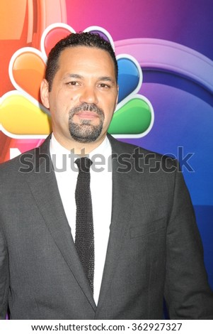 LOS ANGELES - JAN 13:  Vincent Laresc at the NBCUniversal TCA Press Day Winter 2016 at the Langham Huntington Hotel on January 13, 2016 in Pasadena, CA