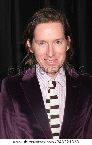 LOS ANGELES - JAN 10:  Wes Anderson at the 40th Annual Los Angeles Film Critics Association Awards at a Intercontinental Century City on January 10, 2015 in Century City, CA - stock photo