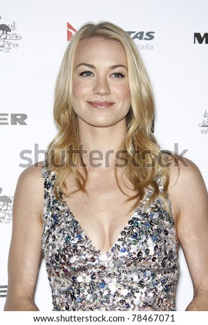 LOS ANGELES - JAN 22: Yvonne Strahovski at the 2011 G'Day USA Australia Week LA Black Tie Gala at the Hollywood Palladium in Los Angeles, California on  January 22, 2011.