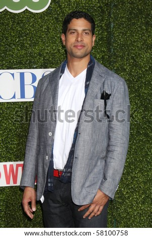 LOS ANGELES - JUL 28:  Adam Rodriguez arrives at the 2010 CBS, The CW, Showtime Summer Press Tour Party  at The Tent Adjacent to Beverly Hilton Hotel on July 28, 2010 in Beverly Hills, CA ...