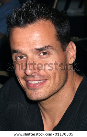 LOS ANGELES - JUL 16:  Antonio Sabato Jr. at the Hollywood Show at Burbank Marriott Convention Center on July 16, 2011 in Burbank, CA - stock photo