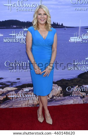 LOS ANGELES - JUL 27:  Barbara Niven arrives to the Hallmark Channel and Hallmark Movies and Mysteries Summer 2016 TCA Press Tour Event  on July 27, 2016 in Beverly Hills, CA                 - stock photo