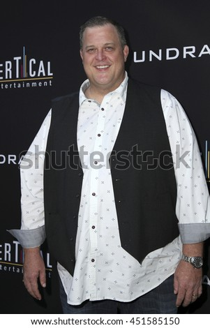 LOS ANGELES - JUL 11:  Billy Gardell at the  Undrafted Los Angeles Premiere  at the ArcLight Hollywood on July 11, 2016 in Los Angeles, CA - stock photo