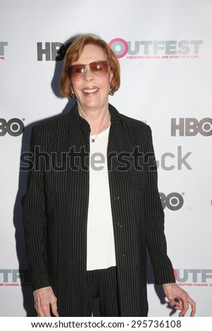 "LOS ANGELES - JUL 11:  Carol Burnett at the ""Tab Hunter Confidential"" at Outfest at the Directors Guild of America on July 11, 2015 in Los Angeles, CA - stock photo"
