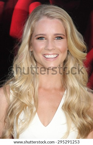 "LOS ANGELES - JUL 7:  Cassidy Gifford at the ""The Gallows"" Premiere at the Hollywood High School on July 7, 2015 in Los Angeles, CA"