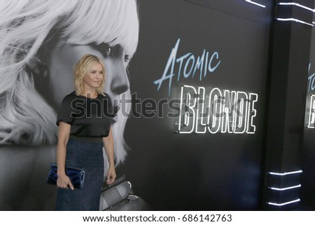 "LOS ANGELES - JUL 24:  Chelsea Handler at the ""Atomic Blonde"" Los Angeles Premiere at The Theatre at Ace Hotel on July 24, 2017 in Los Angeles, CA"