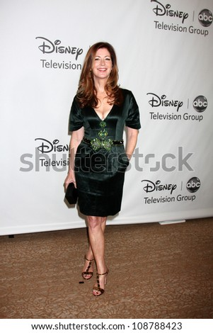 LOS ANGELES - JUL 27:  Dana Delany arrives at the ABC TCA Party Summer 2012 at Beverly Hilton Hotel on July 27, 2012 in Beverly Hills, CA