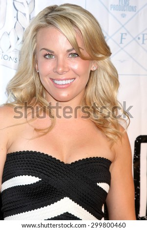 "LOS ANGELES - JUL 23:  Danielle Replogle at the ""The Boom Boom Girls of Wrestling"" Premiere at the Downtown Independent Theater on July 23, 2015 in Los Angeles, CA - stock photo"