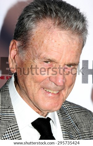 """LOS ANGELES - JUL 11:  Don Murray at the """"Tab Hunter Confidential"""" at Outfest at the Directors Guild of America on July 11, 2015 in Los Angeles, CA - stock photo"""