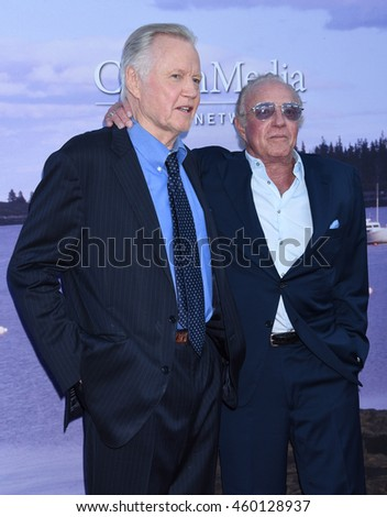 LOS ANGELES - JUL 27:  Jon Voight and James Caan arrive to the Hallmark Channel, Hallmark Movies, Mysteries Summer 2016 TCA Press Tour Event on July 27, 2016 in Beverly Hills, CA