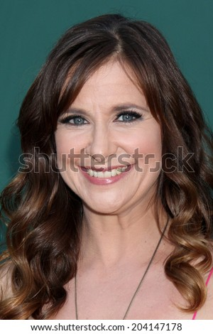 LOS ANGELES - JUL 8:  Kellie Martin at the Crown Media Networks July 2014 TCA Party at the Private Estate on July 8, 2014 in Beverly Hills, CA - stock photo