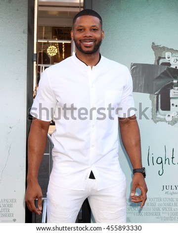 "LOS ANGELES - JUL 19:  Kerry Rhodes at the ""Lights Out"" Los Angeles Premiere at the TCL Chinese Theater IMAX on July 19, 2016 in Los Angeles, CA - stock photo"