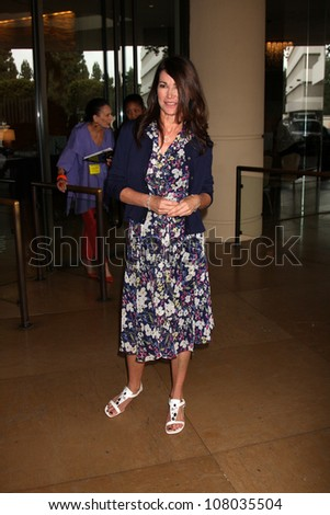 LOS ANGELES - JUL 27:  Kim Delaney arriving at the 2011 TCA Summer Press Tour - Hallmark Channel at Beverly Hilton Hotel on July 27, 2011 in Beverly Hills, CA