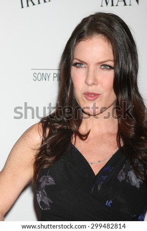 "LOS ANGELES - JUL 9:  Kira Reed Lorsch at the ""Irrational Man"" Los Angeles Premiere at the Writer's Guild of America Theater on July 9, 2015 in Beverly Hills, CA  - stock photo"