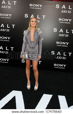 "LOS ANGELES - JUL 19:  Kristin Cavallari arrives at the ""Salt"" Premiere at Grauman's Chinese Theater on July19, 2010 in Los Angeles, CA ...."