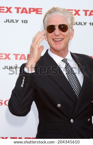 "LOS ANGELES - JUL 10:  Matthew Modine at the ""Sex Tape"" Premiere at the Village Theater on July 10, 2014 in Westwood, CA - stock photo"