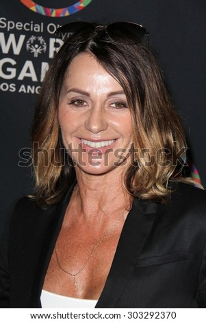 LOS ANGELES - JUL 31:  Nadia Comaneci at the Special Olympics Inaugural Dance Challenge at the Wallis Annenberg Center For The Performing Arts on July 31, 2015 in Beverly Hills, CA - stock photo