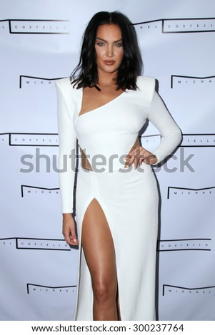 LOS ANGELES - JUL 23:  Natalie Halcro at the Michael Costello And Style PR Capsule Collection Launch Party  at the Private Location on July 23, 2015 in Los Angeles, CA - stock photo