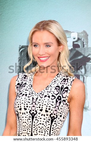 "LOS ANGELES - JUL 19:  Nicky Whelan at the ""Lights Out"" Los Angeles Premiere at the TCL Chinese Theater IMAX on July 19, 2016 in Los Angeles, CA - stock photo"