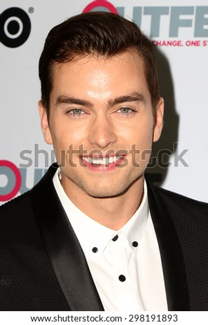 "LOS ANGELES - JUL 17:  Pierson Fode at the ""Naomi & Ely's No Kiss List"" Screening at Outfest at the Montalban Theater on July 17, 2015 in Los Angeles, CA"