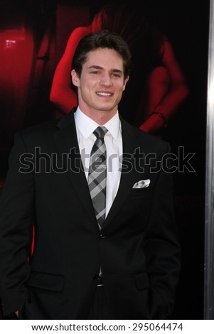 "LOS ANGELES - JUL 7:  Reese Mishler at the ""The Gallows"" Premiere at the Hollywood High School on July 7, 2015 in Los Angeles, CA - stock photo"