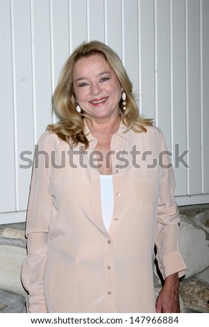 LOS ANGELES - JUL 27:  Robin Mattson arrives at the 2013 General Hospital Fan Club Luncheon  at the Sportsman's Lodge on July 27, 2013 in Studio City, CA - stock photo
