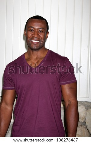 LOS ANGELES - JUL 21:  Sean  Blakemore arrives at the 2012 General Hospital Fan Club Luncheon at Sportsman's Lodge  on July 21, 2012 in Studo City, CA