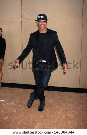 LOS ANGELES - JUL 29:  Shemar Moore arrives at the 2013 CBS TCA Summer Party at the private location on July 29, 2013 in Beverly Hills, CA