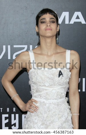 "LOS ANGELES - JUL 20:  Sofia Boutella at the ""Star Trek Beyond"" World Premiere at the Embarcadero Marina on July 20, 2016 in San Diego, CA"