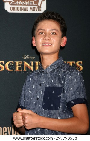 "LOS ANGELES - JUL 24:  Tenzing Norgay Trainor at the ""Descendants"" Premiere Screening at the Walt Disney Studios on July 24, 2015 in Burbank, CA"