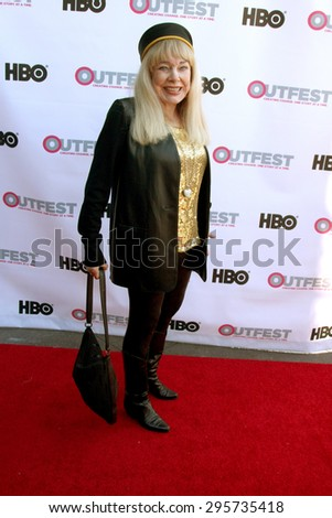 """LOS ANGELES - JUL 11:  Terry Moore at the """"Tab Hunter Confidential"""" at Outfest at the Directors Guild of America on July 11, 2015 in Los Angeles, CA - stock photo"""