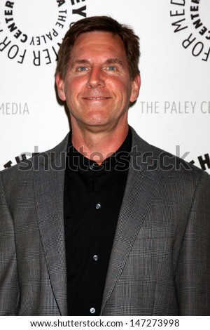 """LOS ANGELES - JUL 16:  Tim Bagley arrives at  """"An Evening With Web Therapy: The Craze Continues..."""" at the Paley Center for Media on July 16, 2013 in Beverly Hills, CA - stock photo"""