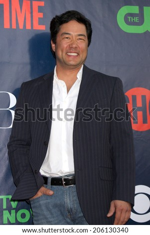 LOS ANGELES - JUL 17:  Tim Kang at the CBS TCA July 2014 Party at the Pacific Design Center on July 17, 2014 in West Hollywood, CA - stock photo