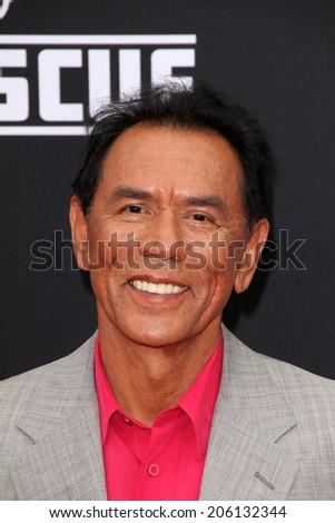 "LOS ANGELES - JUL 16:  Wes Studi at the ""Planes: Fire & Rescue"" World Premiere at the El Capitan Theater on July 16, 2014 in Los Angeles, CA"