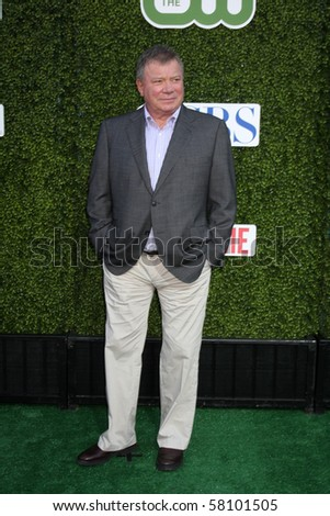 LOS ANGELES - JUL 28:  William Shatner arrives at the 2010 CBS, The CW, Showtime Summer Press Tour Party  at The Tent Adjacent to Beverly Hilton Hotel on July28, 2010 in Beverly Hills, CA ...