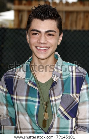 LOS ANGELES - JUN 12:  Adam Irigoyen arriving at the 22nd Annual 'Time for Heroes' Celebrity Picnic at Wadsworth Theater on June 12, 2011 in Westwood, CA